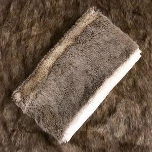 American Eagle Faux Fur Infinity Scarf